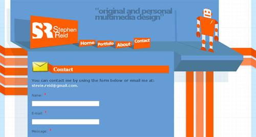 Case Studies in Contact Form Design