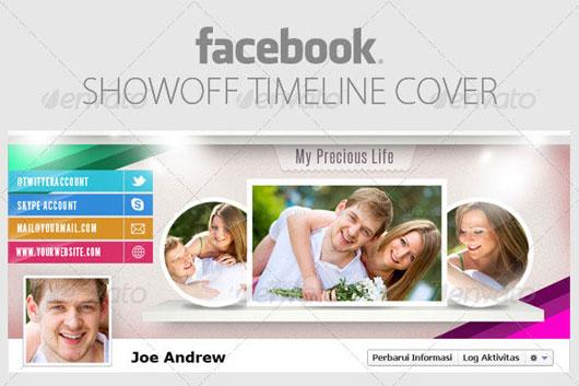 Showoff Facebook Timeline Cover