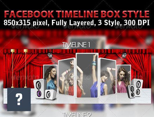 Facebook Timeline Box Style