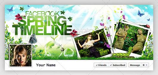 Facebook Timeline Cover | Spring