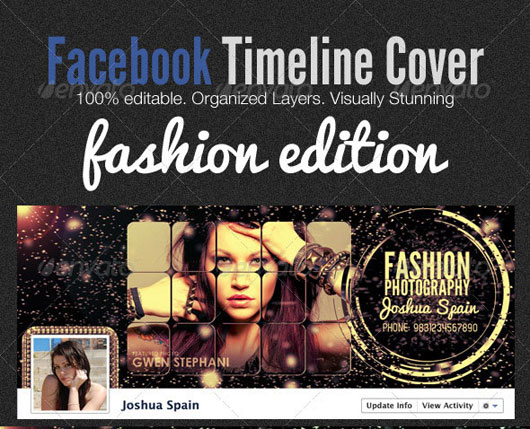 Facebook Timeline Covers - Fashion Edition