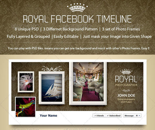 Royal Facebook Timeline