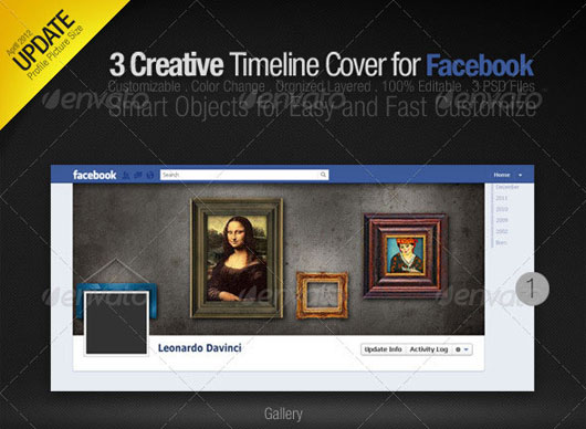 3 Creative Facebook Timeline Covers