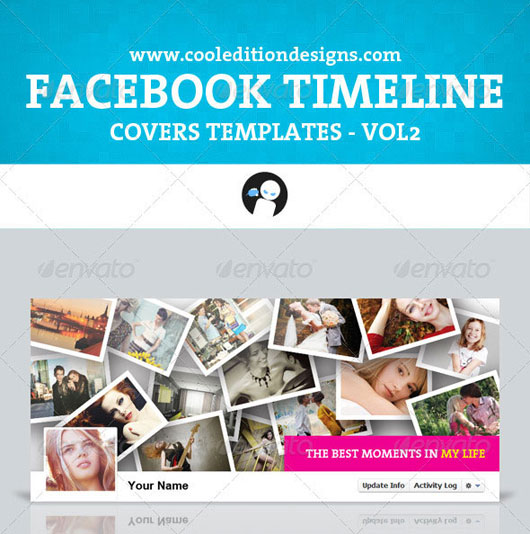 Facebook Timeline Covers Templates VOL2