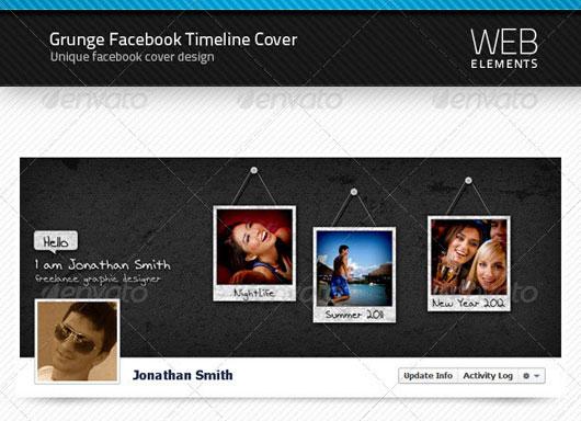 Grunge Facebook Timeline Cover