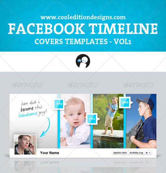 Facebook Timeline Covers Templates VOL1