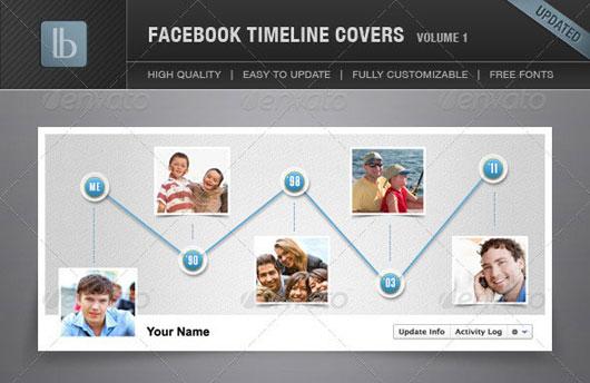 Facebook Timeline Cover | Volume 1
