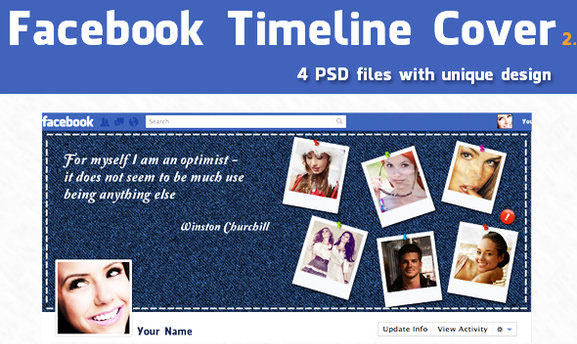 60 High Quality Facebook Timeline Cover Psd Templates Bashooka