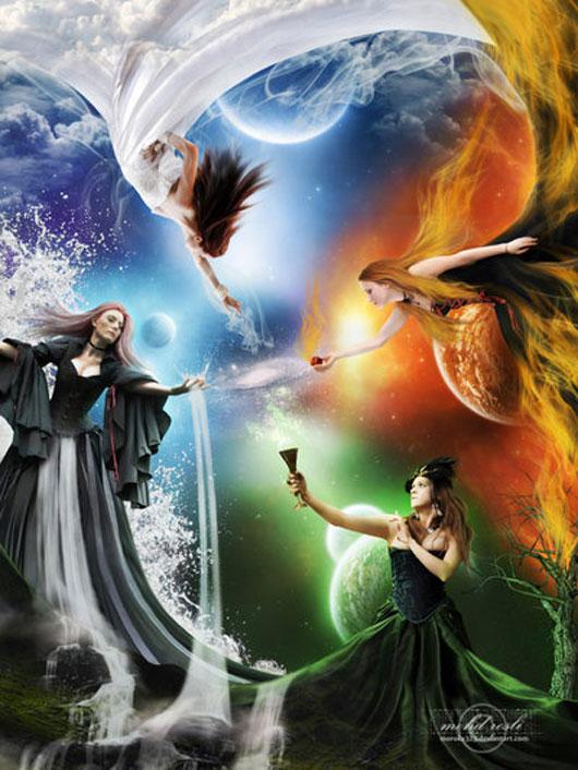 +The Elemental Goddesses+