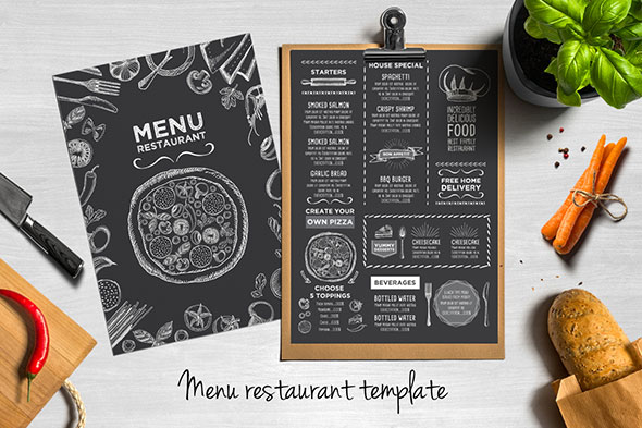 25 High Quality Restaurant Menu Design Templates Bashooka