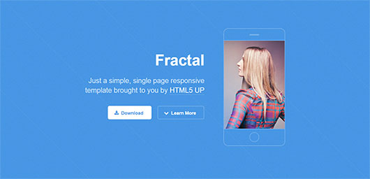 fractal-html-template