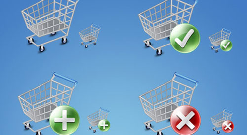 Shop Cart Icons