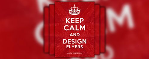 Keep Calm and Carry On Flyer / Poster Template