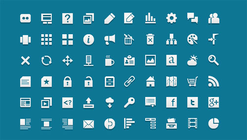 5 fresh free useful icon sets 2012