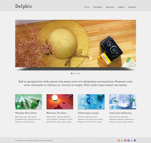 Delphic – Free HTML Template