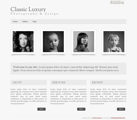 Free XHTML Template Pack