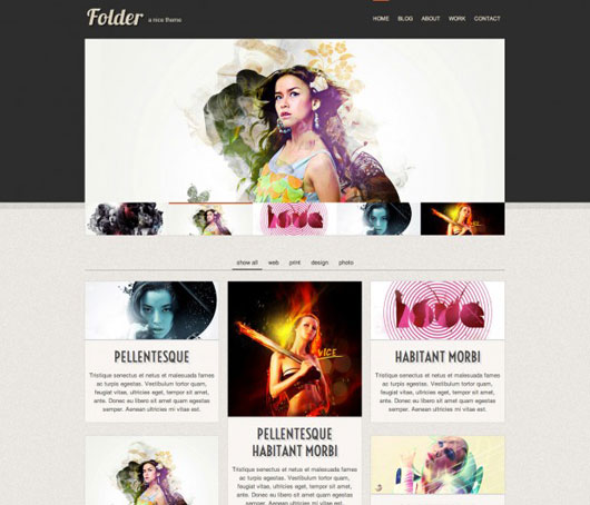 22 High Quality Free Website Templates | Web & Graphic Design | Bashooka