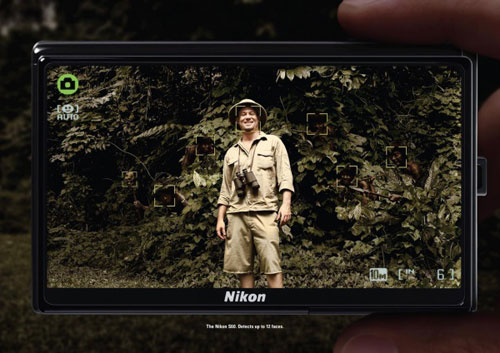 The Nikon S60: Detects up to 12 faces