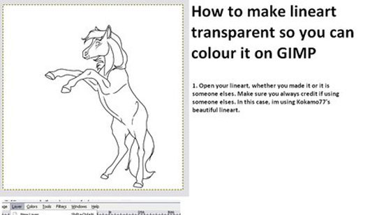 Line Drawing Gimp : Helpful gimp tutorials web graphic design bashooka