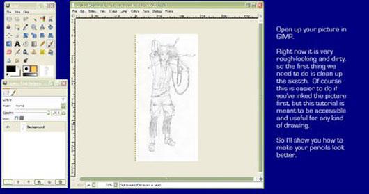 Coloring in GIMP, part 1