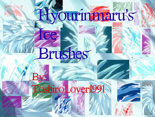 Hyourinmarus Ice Brushes Pack