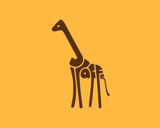 Logo for a giraffe.