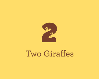 Logo design done for Two Giraffes.