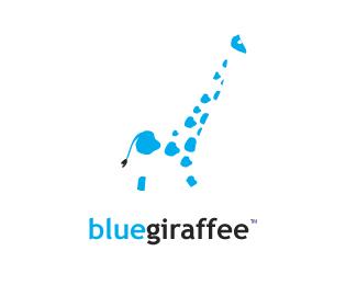 proposal for blue giraffee. a giftstore and handicraft