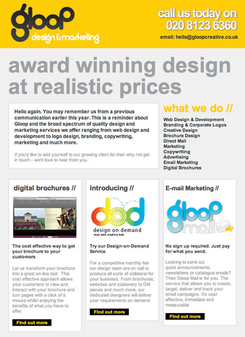 25 beautiful html email newsletter designs web graphic for Modern newsletter design inspiration