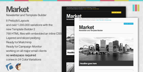 Market - Newsletter and Template Builder