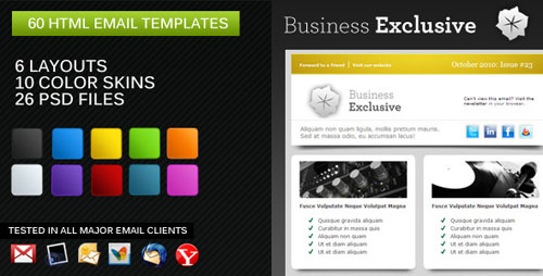 50 BEST HTML EMAIL NEWSLETTER TEMPLATES Premium HTML Templates – Free Business Newsletter Templates
