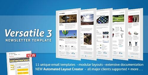 Versatile Newsletter 3 - automated layout creator!