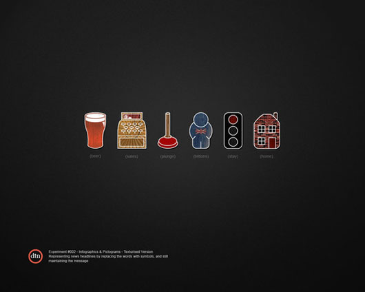 Awesome Minimalist Infographic Designs