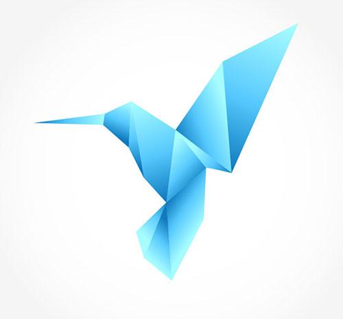 origami logo tutorial