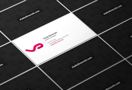 Vlade Dimovski Business Card