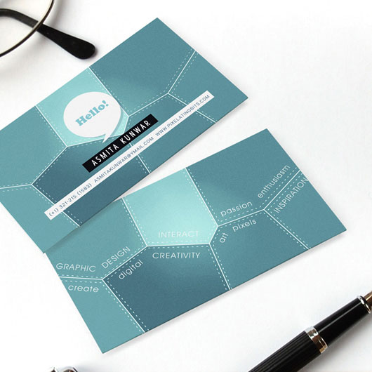Personal Business Card : 65 Examples : Web u0026 Graphic ...