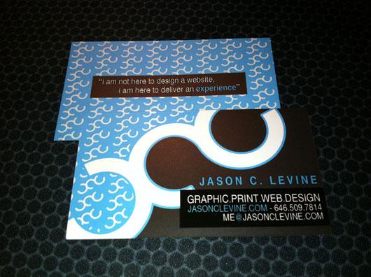 Jason C. Levine Personal Business Card v1