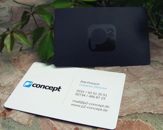 P2 concept - Business Card