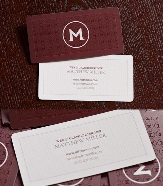 MtthwMllr Business Cards