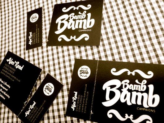 Bamb Bamb Business Cards