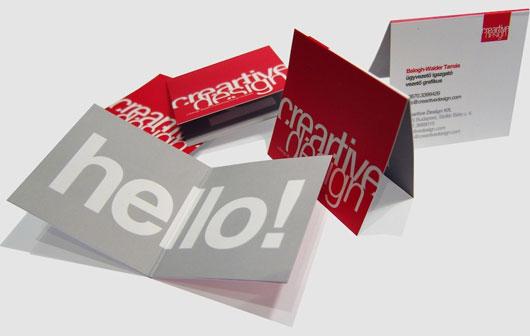 Creartive Design Business Cards