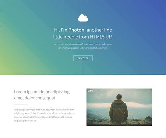 photon html template