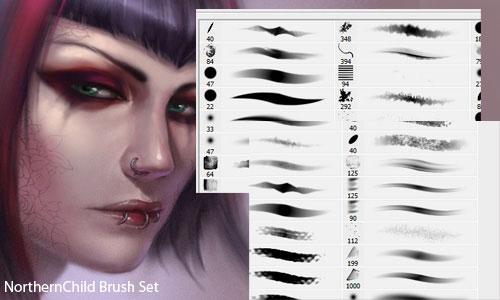 55 Fresh Photoshop Brush Sets | Web & Graphic Design | Bashooka