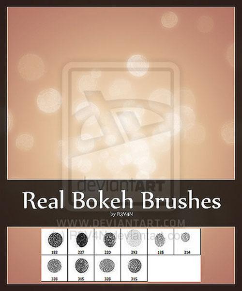 Real Bokeh Brushes