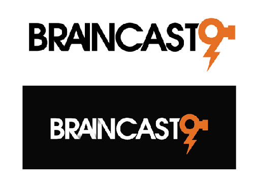 Brainstorm 9 logo process