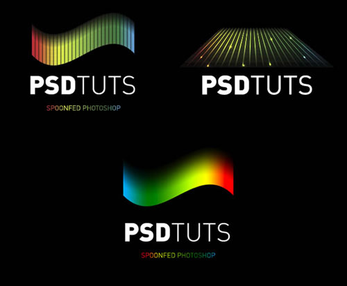 Create Rainbow Logos with Warped Grids