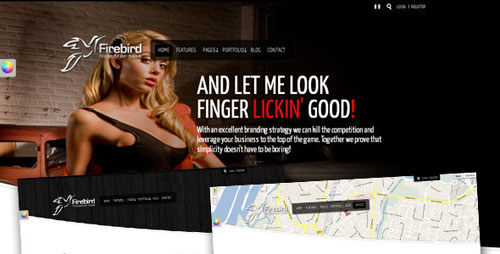 Firebird - wordpress theme