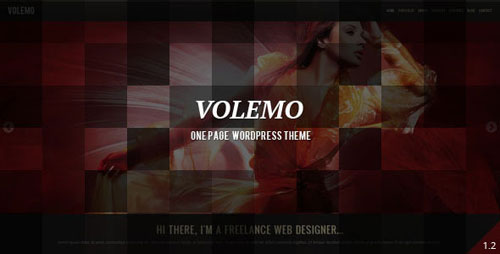 Volemo - WordPress One Page Theme