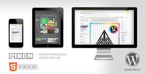 Pixem -Responsive Portfolio/Studio WordPress Theme
