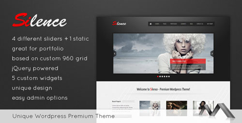 Silence WordPress Theme
